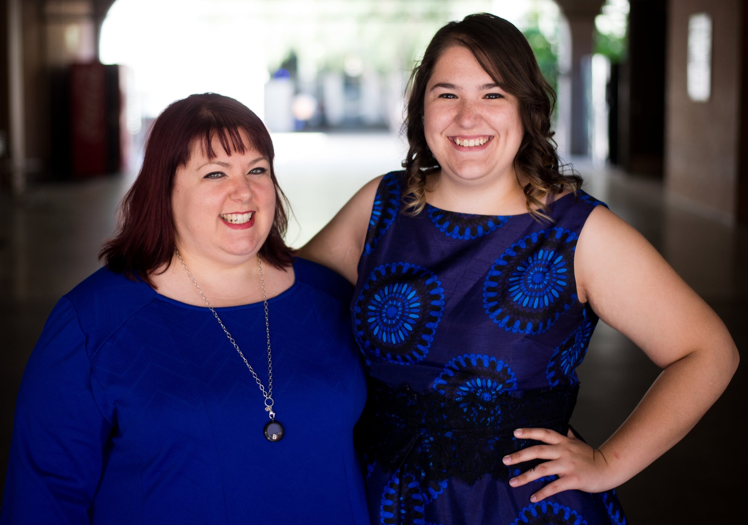 Mother-daughter graduates Christine and Courtney Besaw