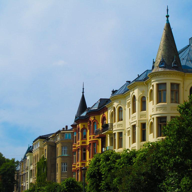 Embassy Row in Oslo, Norway